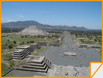 Piramide del Sol a Teotihuacan