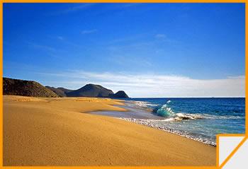 Una spiaggia di Baja California